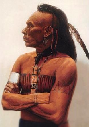 "Cherokee Indian Warrior From Oklahoma Wes Studi He Was In ""Last"