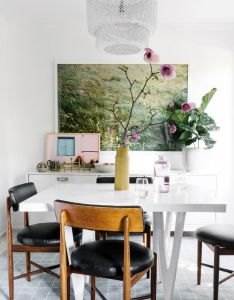 My sister   home makeover also dining interiors and room rh pinterest