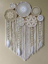 Dream Catcher Wall Hanging  Doily Dream Catcher  Boho ...