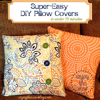 Super easy DIY pillow covers | Home Decor Ideas ...