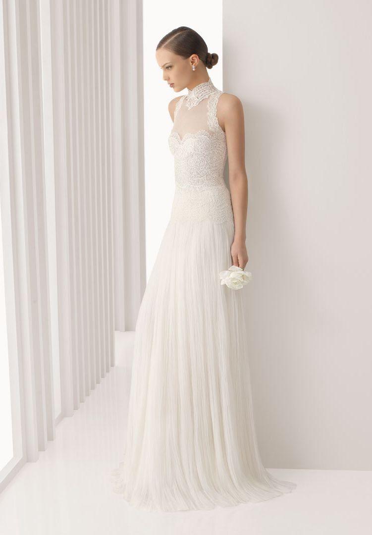 wedding dresses with high collars   Wedding Dresses