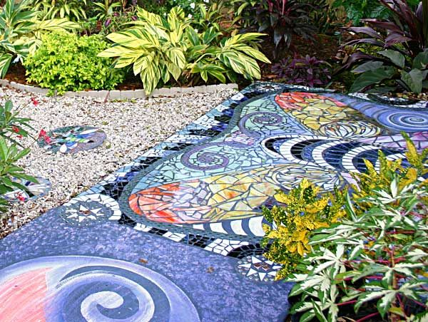 Mosaic Tiles Outdoor
