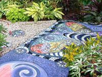 Mosaic Tiles Outdoor | Tile Design Ideas