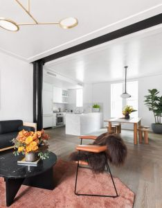 Matter curates show home at the standish condominiums in brooklyn also rh pinterest