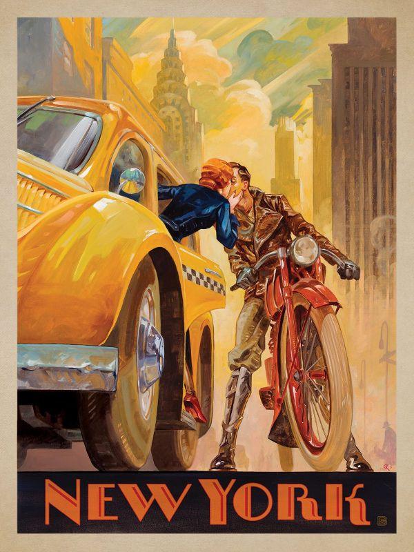 Original Vintage Art Deco Posters