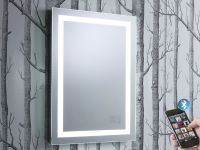 Encore Illuminated Bluetooth Bathroom Mirror with Speakers