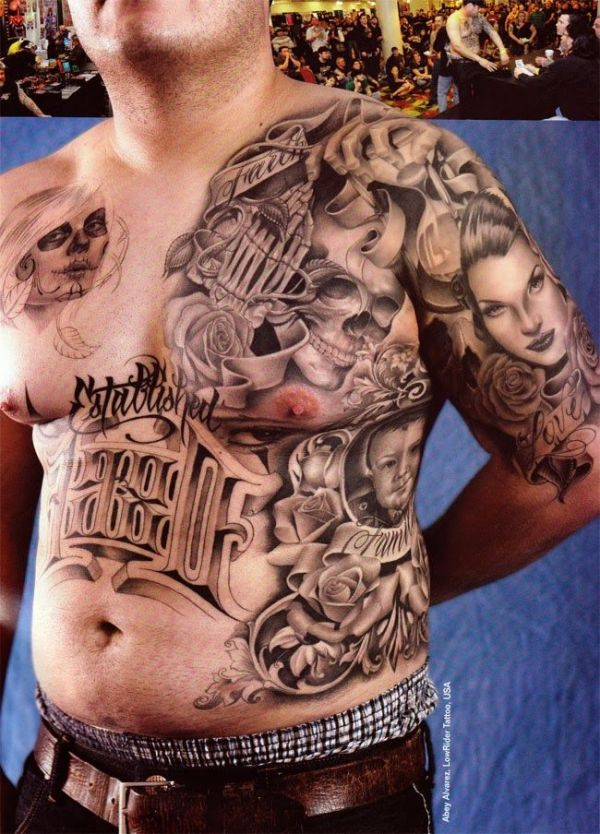 3d prison tattoo images picture for men 3d prison tattoo