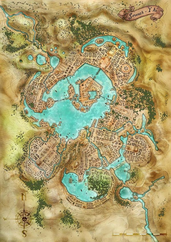 Luskan Map - Exploring Mars