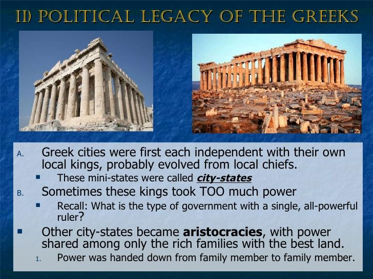 Ancient Greek Government And Politics