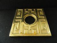 Vintage Schlage Ming Door Escutcheon Brass | eBay | Mid ...
