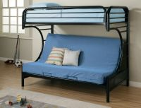 Bed Entrancing Style Twin Over Full Frame Twin Bed ...