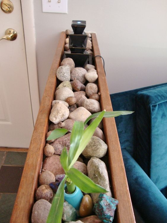 Indoor Rock Garden The DIY Adventures Upcycling Recycling And