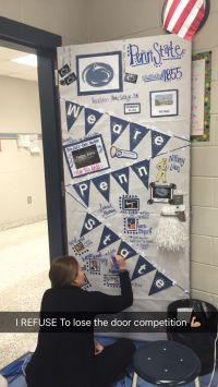 College Week Door Decorating competition #PennState #