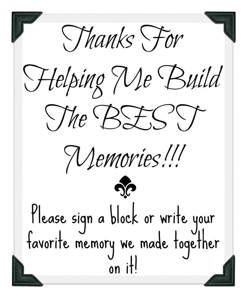 Graduation Party Guest Book Idea With Free Printable