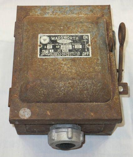 mfg residential fuse box