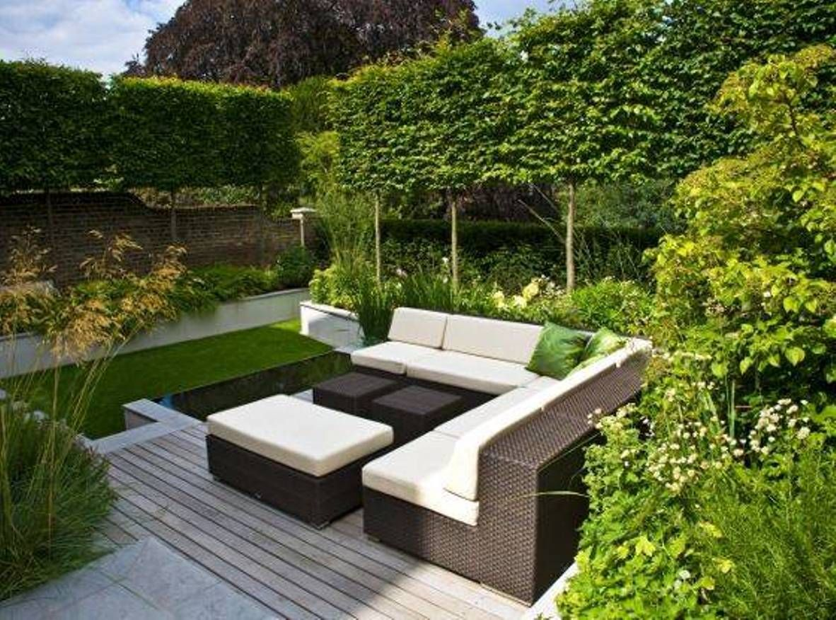 Home Design And Decor Modern Garden Ideas For Small Spaces