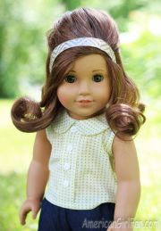 american girl doll hairstyle waterfall