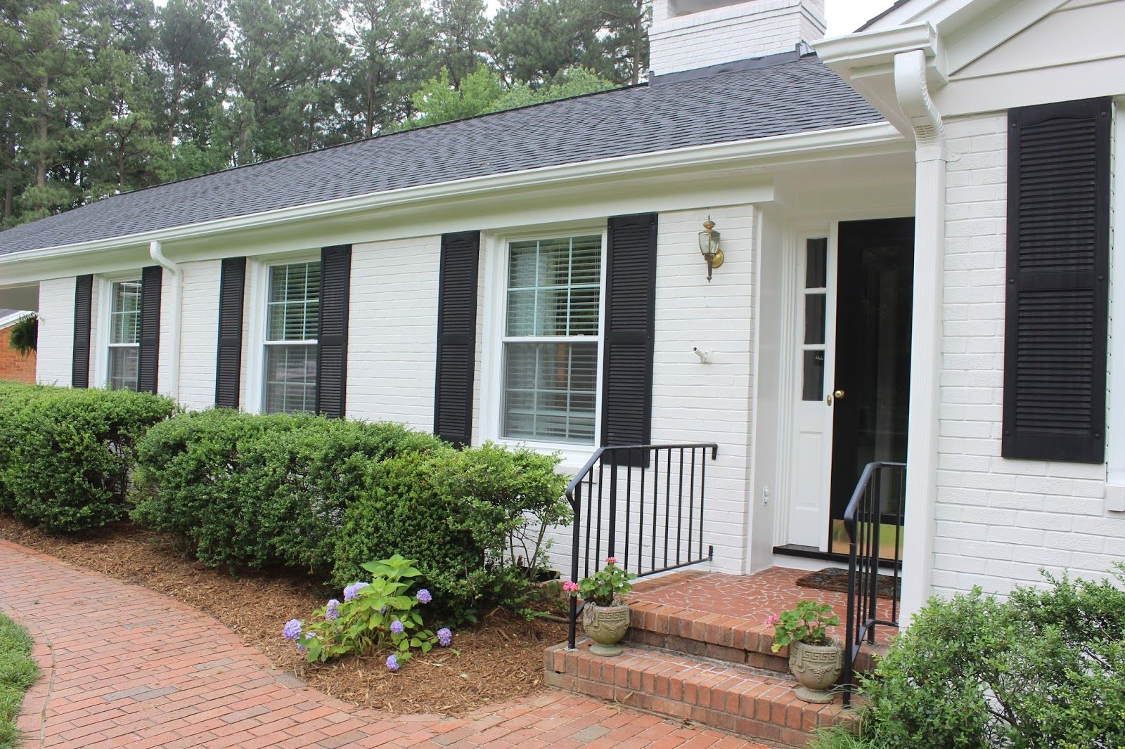 Exterior Magnificent Home Design Ideas With Brick Beam Exterior