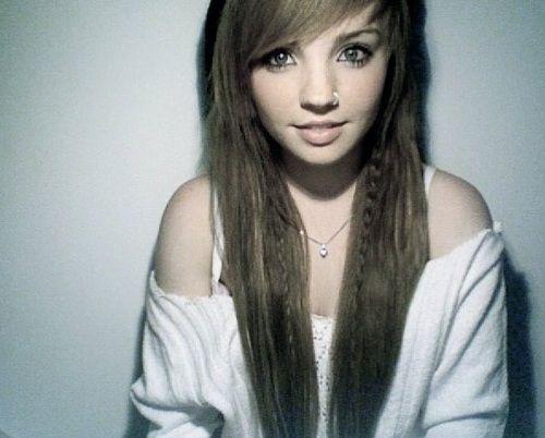 Emo Girl Hairstyles For Long Hair And Bangs GlobezHair Hair