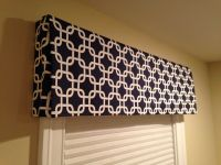 DIY Box Valance: No Sew!