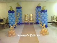 Prince baby shower theme
