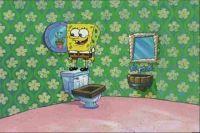 Spongebob's bathroom | room | Pinterest | Room