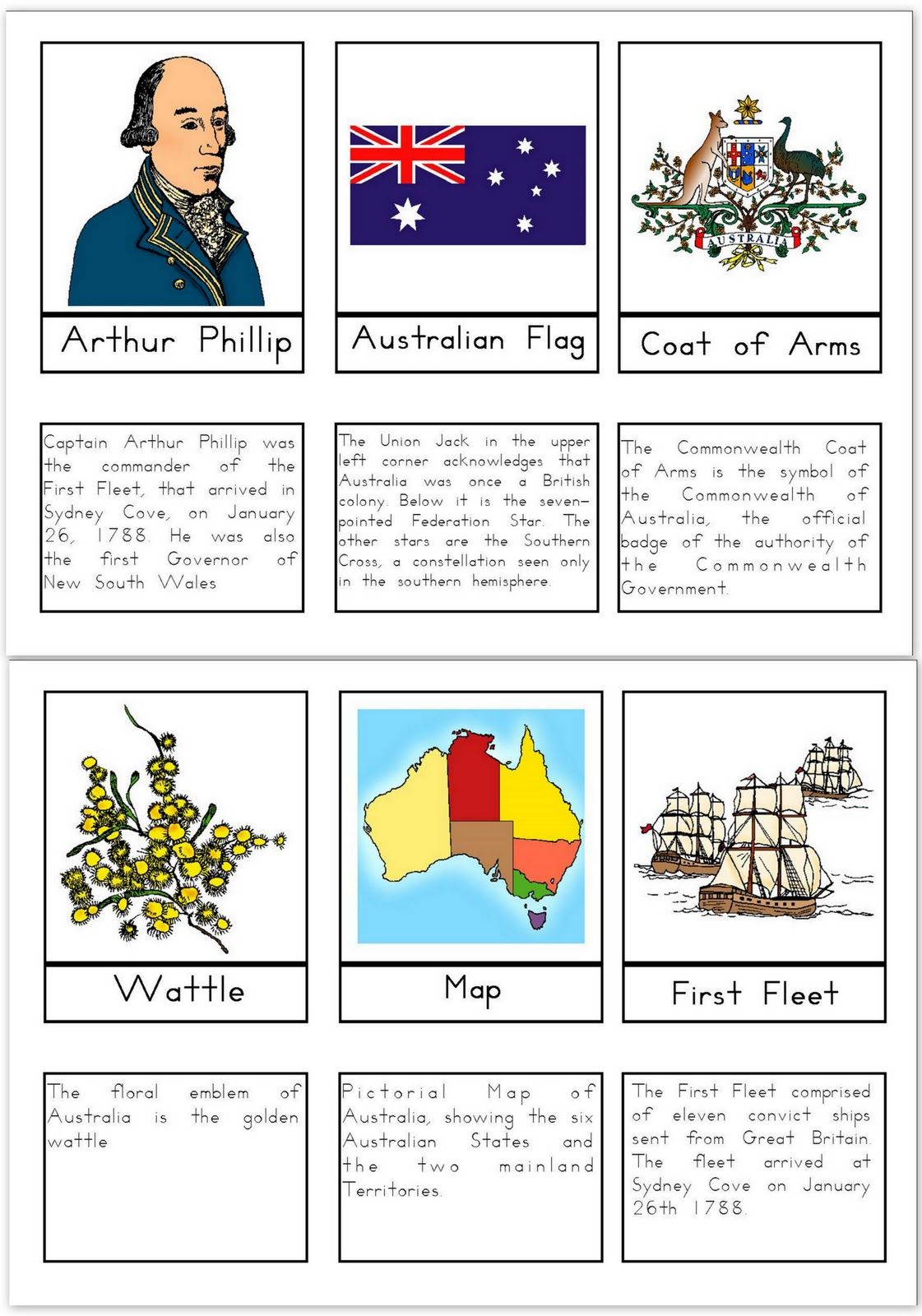 Our Worldwide Classroom Free Printable Australia Day