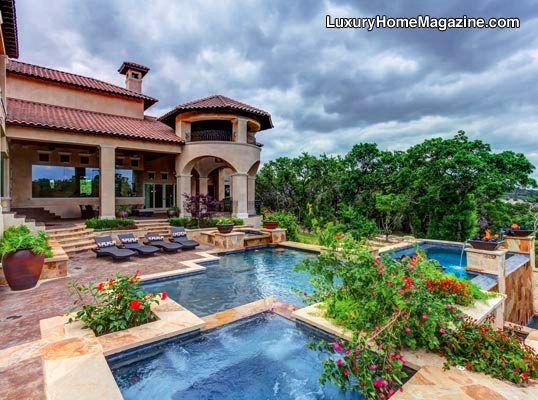 Luxury Home Magazine San Antonio #LuxuryHomes #Pools #