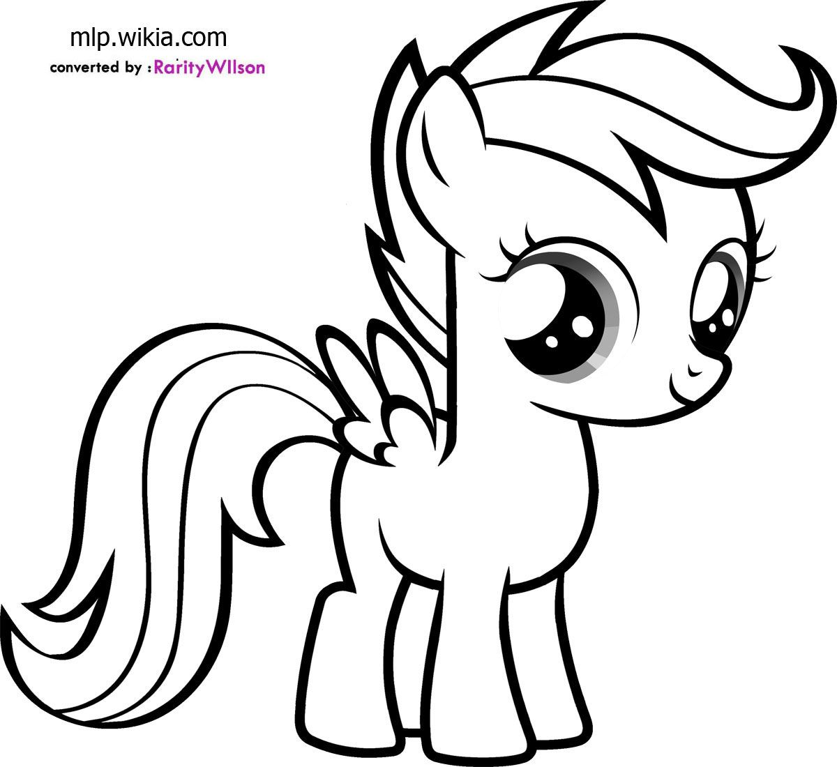 Kindergarten Worksheets Little Pony