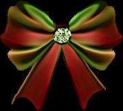 christmas bow clip art bows