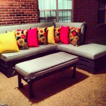 Diy Patio Furniture With Pallets