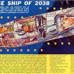 Spaceship Cutaway Diagram Generac Portable Generator Parts Of 2038 Sci Fi Cutaways And Diagrams