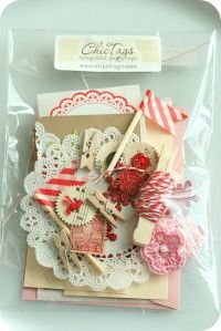 christmas supplies | via shabby chic crafts | Christmas ...