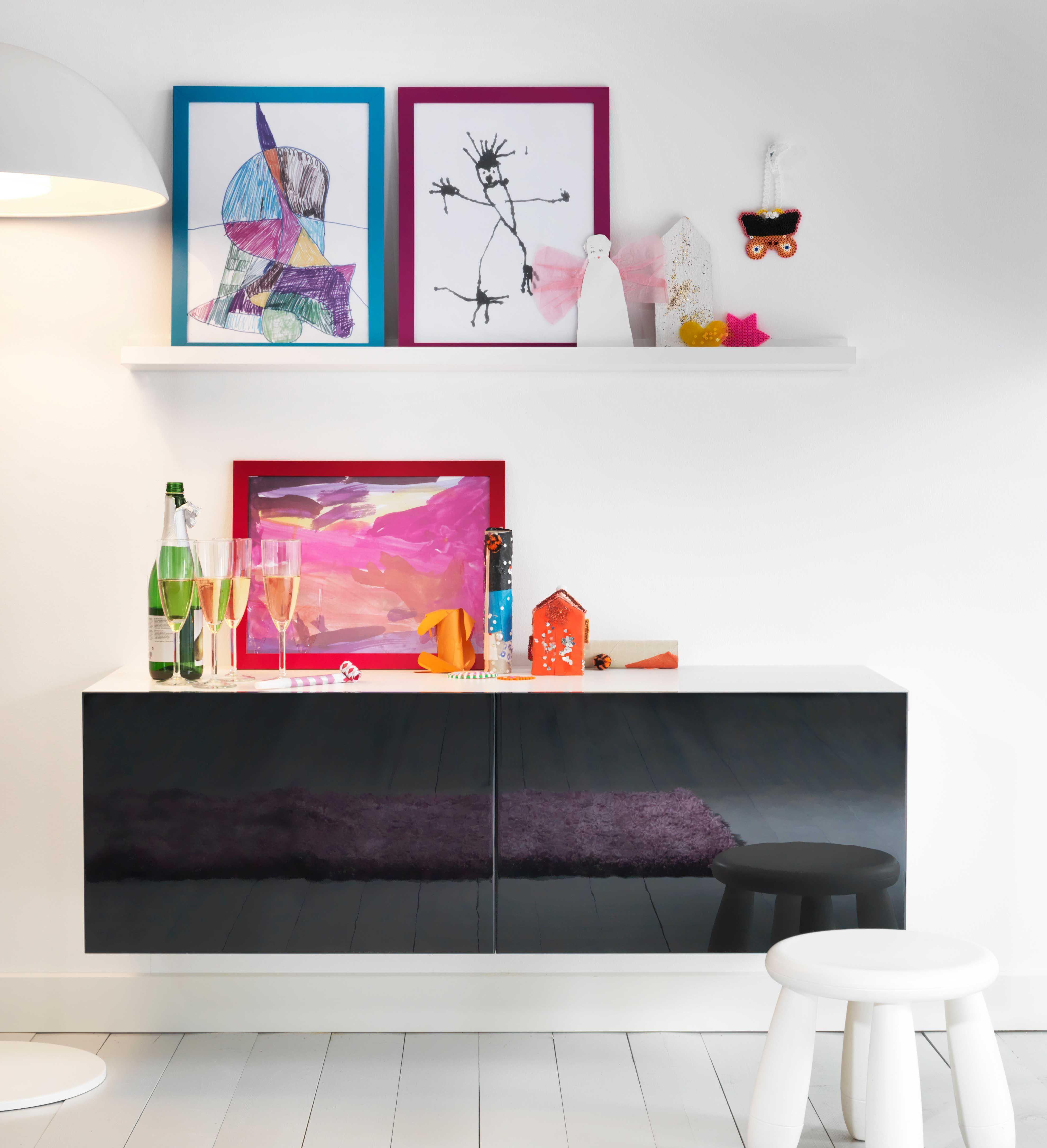 IKEA sterreich Inspiration Wohnzimmer Regal BEST Rahmen NYTTJA  IKEA Wohnzimmer  mit