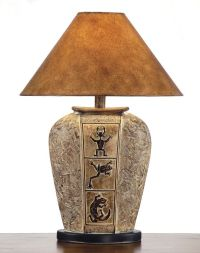 southwest table lamps | Southwestern Lamps, Southwest ...