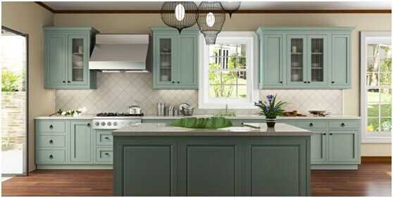 one wall kitchen layout with island - Google Search ...