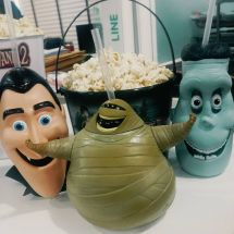 Hotel Transylvania 2 Popcorn Bucket Set Figure Head