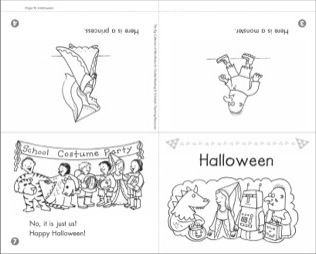 Halloween: Mini-Book for Guided Reading (Level B