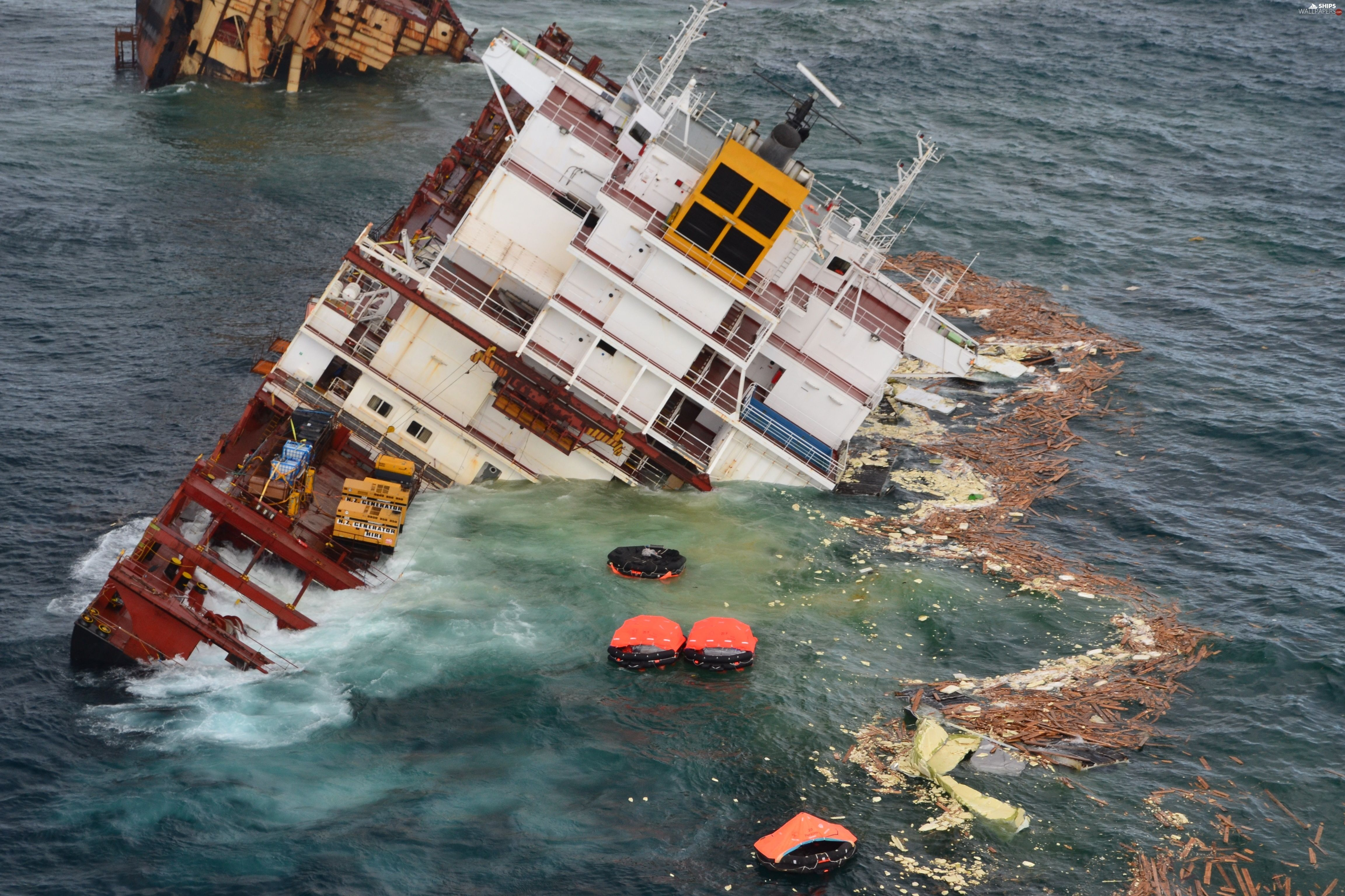 Launches Cargo Sinking Ship Ships Grafik