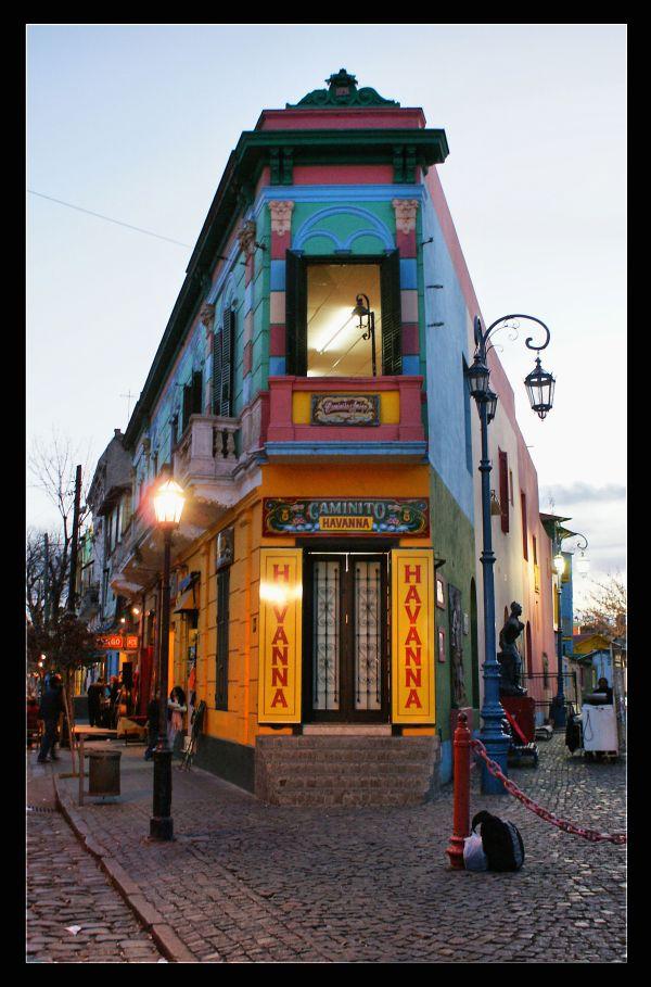 El Caminito Buenos Aires Argentine Multicultural Rich