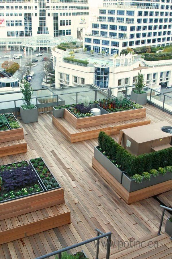 Bilderesultat For Design Rooftop Garden Takterrasse Pinterest