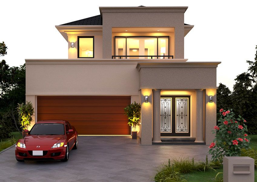 Stellar Home Designs Double Storey Hennessey XO Visit