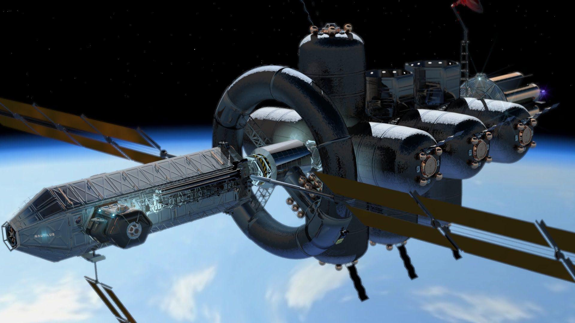 Looking For Interplanetary Ship Designs
