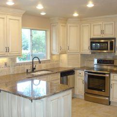 White Corian Kitchen Countertops Blue Rug 4 Day Cabinets Granite Countertop