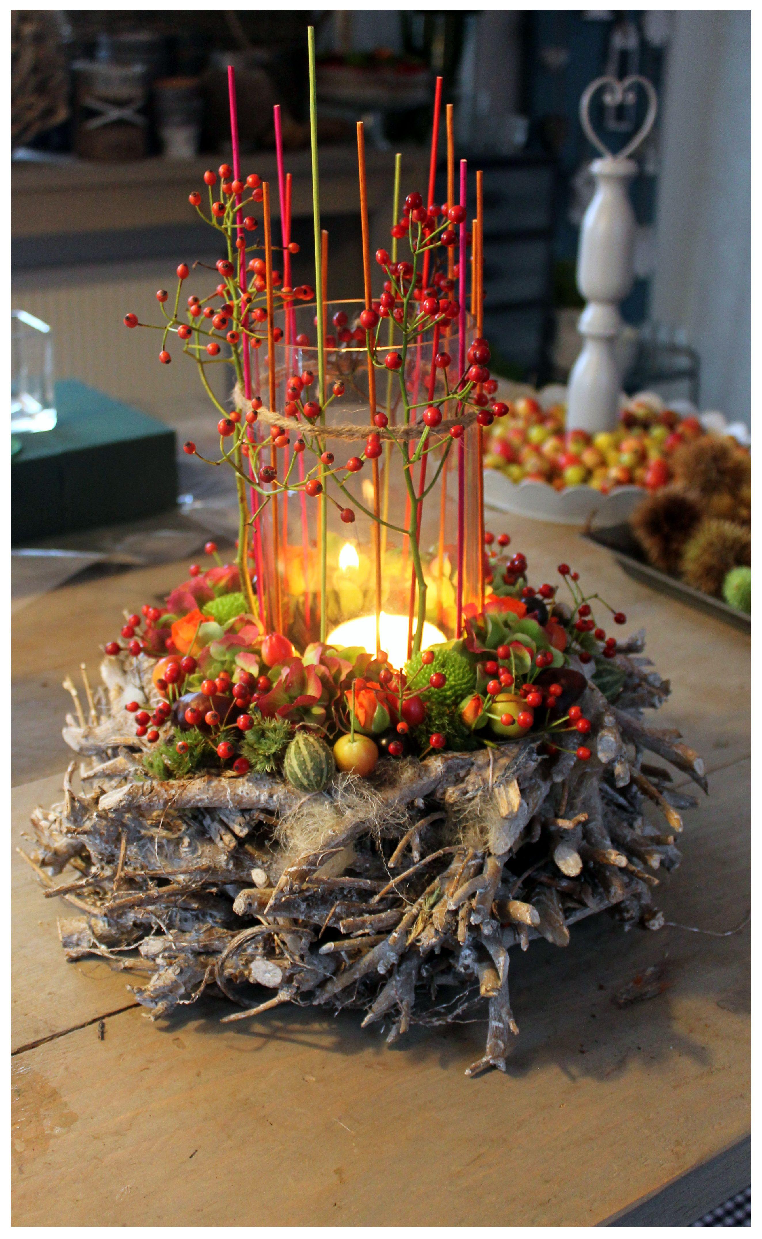 Herbst  floristik  Pinterest  Herbst Herbstdeko und Krnze
