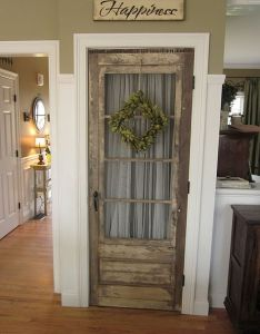 Replace interior doors with an old door home sweet pinterest and interiors also rh