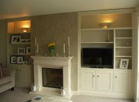 Make use of your chimney alcoves by fitting them out with ...
