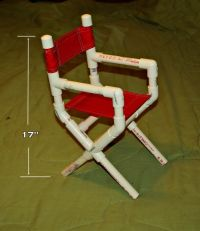 Pvc Pipe Projects   Here is a little doll size directors ...