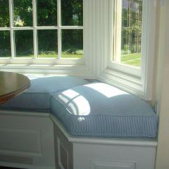 Bay Window Sofa Seating 2 Piece Slipcovers Cheap Seat Cushion For Kitchen Cushions