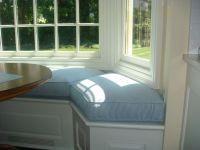 Bay Window Seat Cushion for Kitchen | Window seat cushions ...